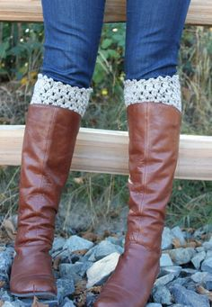 Boot cuffs are quite possibly one of the hottest trends for fall and winter fashion this year.