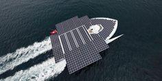 Climat: Le + grand catamaran solaire part bientôt pour enquêter sur le Gulf Stream!