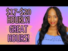 APPLY TODAY! $17-$20 FULL TIME HOURLY WORK FROM HOME JOB! - YouTube