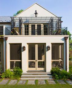 Anne Decker Architects.  screen porch exterior