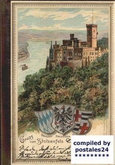 wx61938 Stolzenfels Burg Stolzenfels Kat. Koblenz | eBay