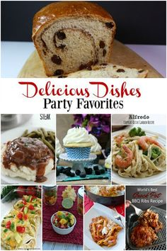 So many good recipes at our Delicious Dishes party this week! Click to see them all or pin for later!