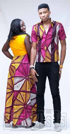 SUBIRA WAHURE  African Men's fashion & style