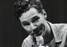 That side stare he does... Benedict's super power are his stares.