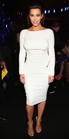 KIM KARDASHIAN photo | Kim Kardashian Dress is too tight on her, but that is usually the case... still like it.