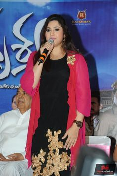 Meena at Drishyam Success Meet