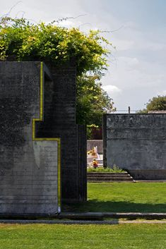 Carlo Scarpa  - The Brion Tomb (natural elements, natural palette of colours)