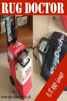 Review Of The Rug Doctor Carpet Cleaner. Is It Worth The Hire Fee?