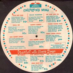 "Howard Johnson's 1966 ""Know Your States Menu"" Side 2 by CollectoratorOne, via Flickr"