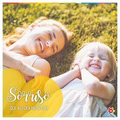 #QuemTemFilhoSabe 💕 É ver aquele sorriso que ilumina e capaz de nos alegrar 😍 #amorpelacriança