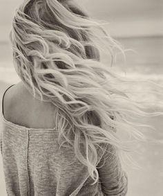 Perfect beachy hair