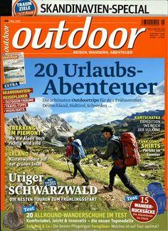 20 Urlaubs-Abenteuer - Die schönsten Outdoortrips für den Frühsommer. Gefunden in: outdoor, Nr. 5/2015