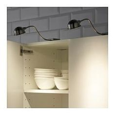 FORMAT LED cabinet light, nickel plated - - - IKEA