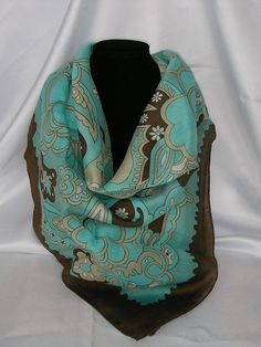 Vintage scarf от MyLovelyEarrings на Etsy