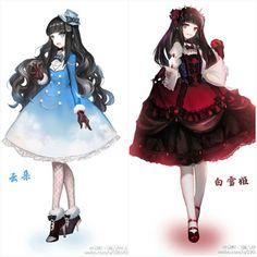 5 Anime, Chica Anime Manga, Anime Angel, Anime Chibi, Pretty Anime Girl, Beautiful Anime Girl, Anime Art Girl, Anime Sisters, Anime Siblings