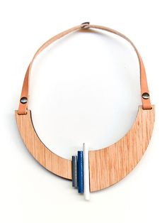 Asymmetric geometric necklace - collar designer  Ioanna Koulouris
