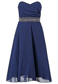 Robe de soiree bleue zalando