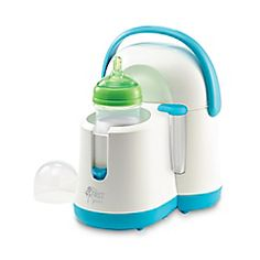 Whether it's shaken (not stirred) or warmed up, babies can be particular about how they want their bottles. But rushing to the kitchen at 2 a.m. to warm up a bottle? No thanks. The Night Cravings Bottle Warmer & Cooler delivers bottles at the perfect temperature every time without even stepping out of the nursery. The removable cooler conveniently keeps bottles cool for up to eight hours, and warms a chilled bottle in minutes for complete baby satisfaction. Plus, it warms baby food jars and…
