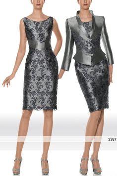 Traje de chaqueta de alta costura modelo 3387 Teresa Ripoll by Teresa Ripoll | Boutique Clara