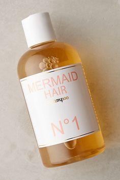 Mermaid Shampoo #anthropologie