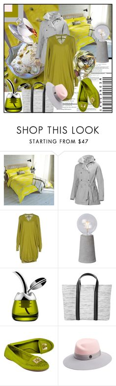 """Pistachio & Ash Grey"" by din-sesantadue ❤ liked on Polyvore featuring Scion, Helly Hansen, Liviana Conti, Alessi, Elena Karavasili, Tory Burch, Maison Michel and Santorus"