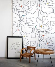 Animal-Themed Design for Kids' Rooms by Kickcan and Conkers