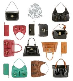 village england leather handbags purses new season