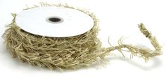 Kel-toy Wired Burlap Ribbon Roll, By Ivory - book uggs Burlap Ribbon, Coupon Design, Jute Twine, Discount Furniture, Biodegradable Products, Ivory, Delicate, Discount Uggs, Discount Price