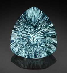 Gems:Faceted, Very Fine Gemstone: Cuprian Tourmaline (Paraiba Type) - 51.07 Ct..Alto Ligonha District, Zambezia Province, Mozambique...