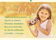 Postkarte - Für dich schöne Momente