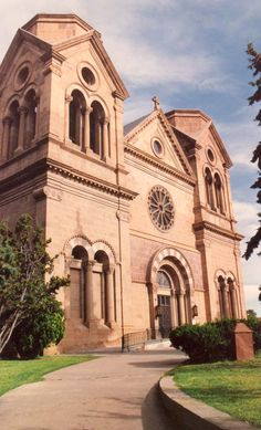 St Francis Cathedral, Santa Fe NM (c) Richard Bauman