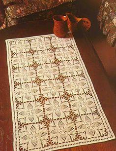 Magic Crochet Nº 21 - Edivana - Picasa Web Albums Crochet Art, Filet Crochet, Crochet Motif, Crochet Doilies, Crochet Patterns, Crochet Table Runner, Crochet Tablecloth, Oblong Tablecloth, Tatting Tutorial