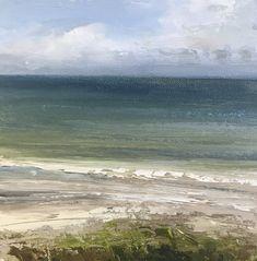 Towards the Sea Seaside Style, Seaside Decor, Coastal Homes, Coastal Living, Cornish Beaches, Oceans, Landscape Paintings, Sketching, Bliss