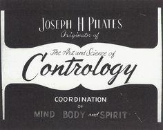 Co-ordination of Mind, Body & Spirit