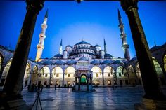 Sultan Ahmed Mosque – Sedefkar Mehmed Agha – #Istanbul, #Turkey  Wonderful #Architectures From #Europe in #Timelapse