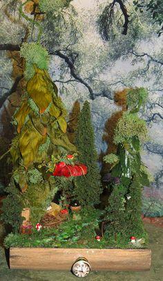 Fairy House, Fairy Village Storybook, Woodland Fairies, Faerie, Fairies, Forest, Fairytale