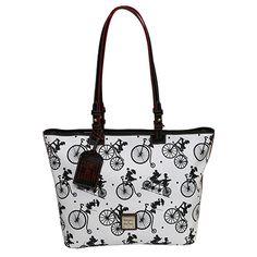 Shopper Tote - Flower & Garden Bicycles Collection - Disney Collaboration Purses Bags Crossbody Stachel Disney Collab Purse
