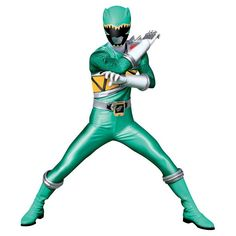 Power Rangers Dino Charge Green Ranger Standup