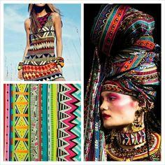 Estilo étnico. Moda www.lojadibella.com.br