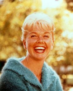 Doris Day is my favorite actress of all time. I love watching her movies.