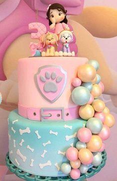 Girls Paw Patrol Cake, Bolo Do Paw Patrol, Skye Paw Patrol Cake, Girl Paw Patrol Party, Torta Paw Patrol, Paw Patrol Birthday Theme, Birthday Cakes Girls Kids, Cakes For Boys, Birthday Parties
