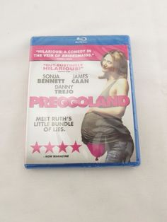 Preggoland (DVD, 2015) Sonja Bennett, James Caan, Danny Trejo Blu Ray