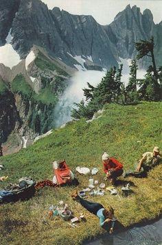 Kamp - dağlar