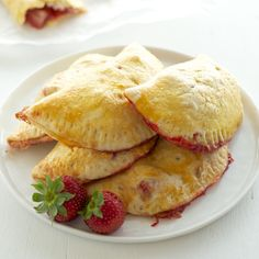 Strawberry Hand Pies from Pixels + Crumbs