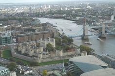 Tower of London und Tower Bridge vom Skygarden