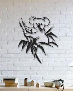 Koala Metal Plaka - Koala