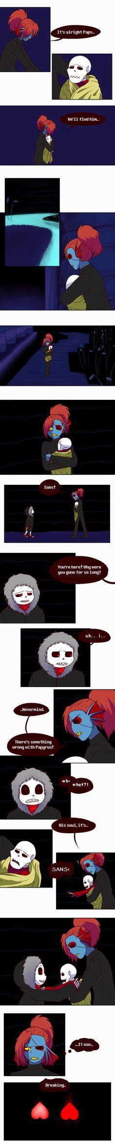 Underfell comic