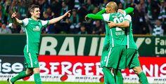 Furiose Bremer zerlegen Stuttgart - Werder Bremen hat die Abstiegsplätze vorerst verlassen. In einem packenden Spiel besiegten die Norddeutschen den VfB Stuttgart mit 6:2 (3:1).