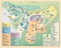 Zoo map | Oregon Zoo