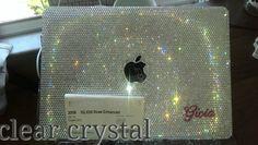 Laptop Case Swarovski Crystals Rheinstone by artemisonearth, $349.99